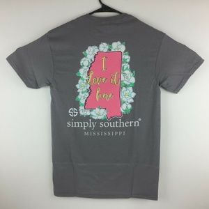 Simply Southern Mississippi Short Sleeve T-Shirt